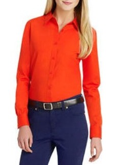 No-Iron Easy-Care Relaxed Fit Shirt