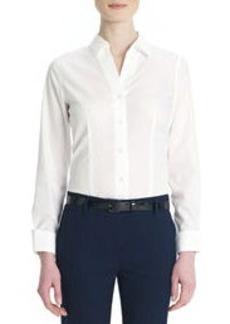 Non-Iron, Easy-Care Cotton Shirt