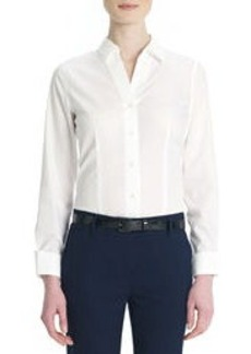 Non-Iron, Easy-Care Cotton Shirt