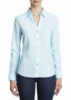 Non-Iron, Easy-Care Fitted Shirt