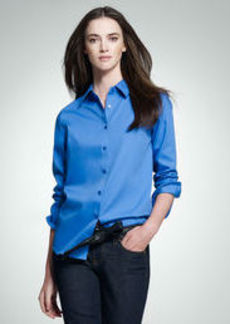 Non-Iron Easy-Care Relaxed Fit Shirt (Petite)