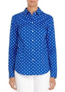Non-Iron Easy-Care Relaxed Printed Shirt
