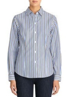 Non-Iron Easy-Care Relaxed Striped Shirt