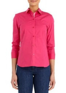 Non-Iron Easy Care Stretch Cotton Shirt