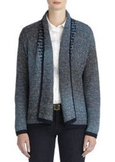 Open Front Cardigan with Long Sleeves