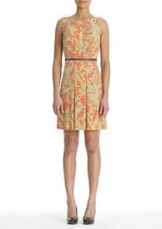 Paisley Print Sleeveless Dress
