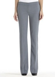 Pants with Faux Leather Inset Pockets
