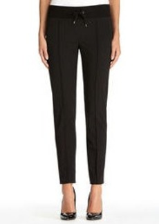 Pants with Knit Waistband