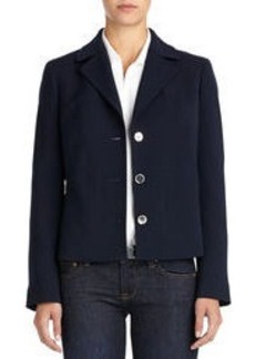 Peacoat with Zip Pockets