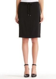 Pencil Skirt with Drawstring Waist