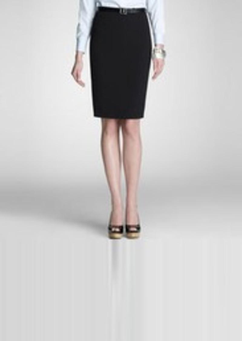 Platinum Pencil Skirt (Petite)