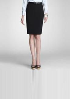 Platinum Pencil Skirt (Plus)