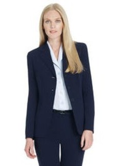 Platinum Three Button Jacket (Petite)