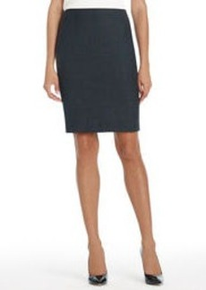 Platinum Washable Wool Skirt