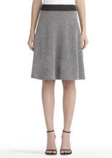 Ponte Knit Half Circle Skirt (Plus)