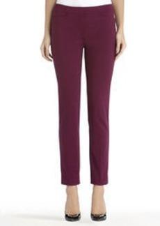 Ponte Knit Slim Leg Pants