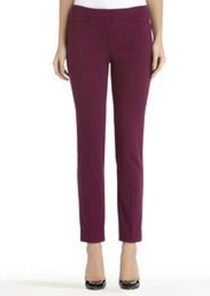 Ponte Knit Slim Leg Pants