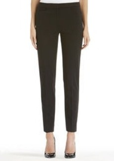 Ponte Knit Slim Leg Pants (Plus)