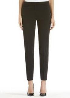 Ponte Knit Slim Leg Pants (Plus)