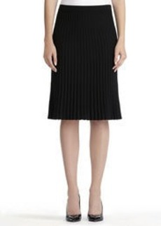 Pull-On Pleated Skirt