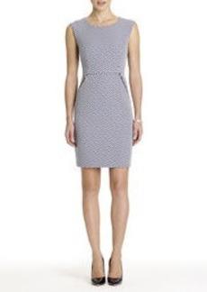 Sheath Dress with Side Zippers
