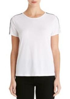 Short Sleeve Crew Neck Tee Shirt (Petite)