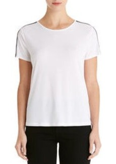 Short Sleeve Crew Neck Tee Shirt (Petite)