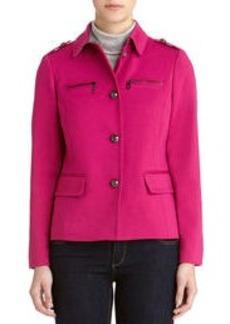 Single Breasted Jacket with Epaulets
