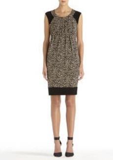 Sleeveless Animal Print Dress