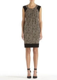 Sleeveless Animal Print Dress