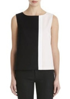 Sleeveless Colorblock Shell