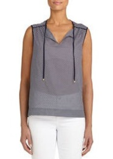 Sleeveless Cotton Tunic (Petite)