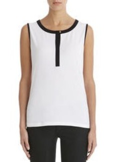 Sleeveless Crew Neck Tank Top (Petite)