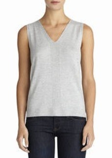 Sleeveless Pullover Sweater (Plus)