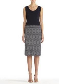 Sleeveless Sheath Dress (Plus)