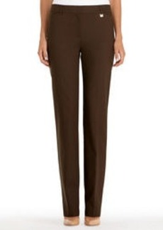 Slim-Fit Straight-Leg Pants