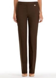 Slim-Fit Straight-Leg Pants