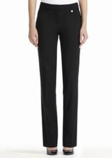 Slim-Fit Straight-Leg Pants (Petite)
