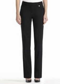 Slim-Fit Straight-Leg Pants (Petite)