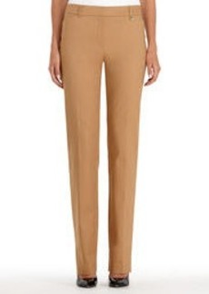 Slim-Fit Straight-Leg Pants (Plus)