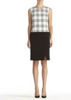 Split Front Sheath Dress