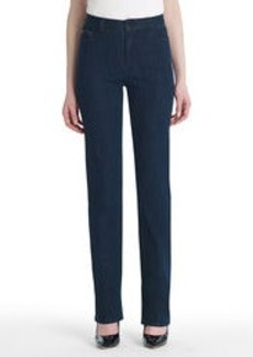 Straight-Leg Denim Jeans with Bling