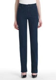 Straight-Leg Denim Jeans with Bling (Petite)