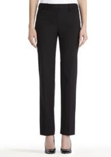 "Straight Leg Stretch Cotton Pants with 31"" Inseam (Plus)"