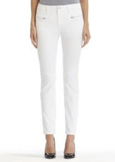 Stretch Cotton Ankle Jeans