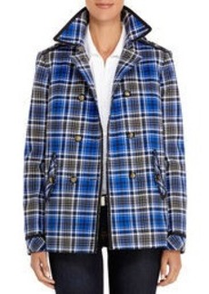 Stretch Cotton Double-Breasted Jacket