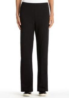 Stretch Cotton Easy Pants (Plus)