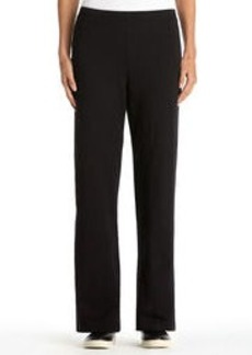 Stretch Cotton Easy Pants (Plus)