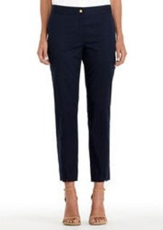 Stretch Cotton Slim Leg Pants