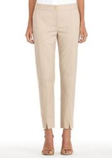 Stretch Cotton Slim Leg Pants